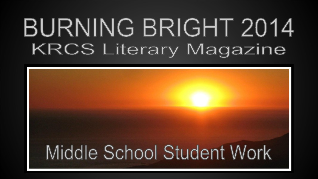LITERARY MAGAZINE 2014 KRCS MS Volume 5