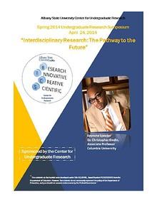 AUS Spring 2014  Undergraduate Research - Symposium Booklet