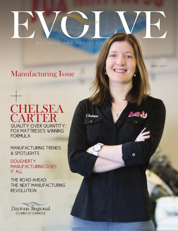 EVOLVE Business and Professional Magazine April 2017