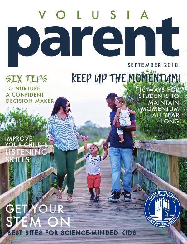 Parent Magazine Volusia September 2018