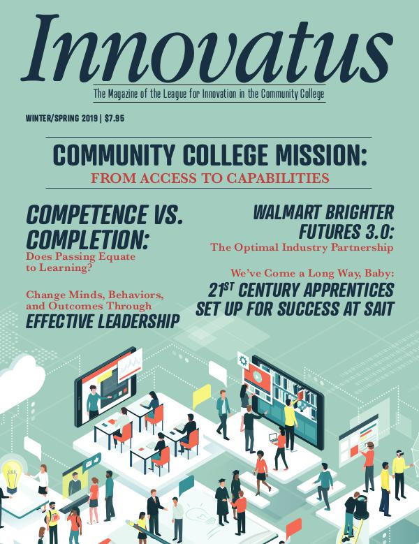 League for Innovation in the Community College January 2019