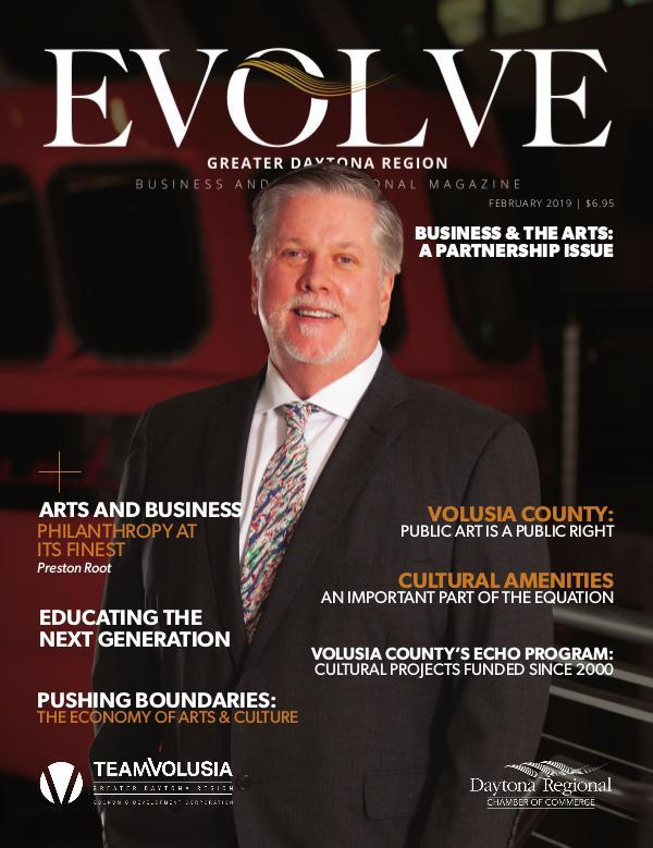 EVOLVE Business and Professional Magazine February 2019