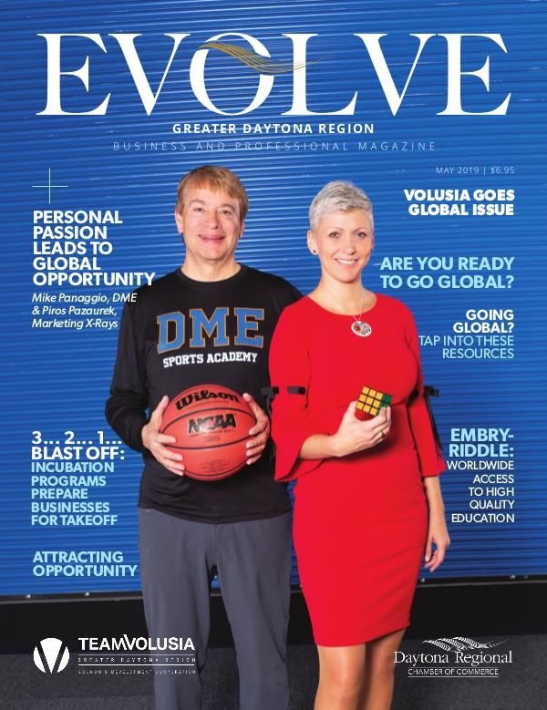 EVOLVE Business and Professional Magazine May 2019