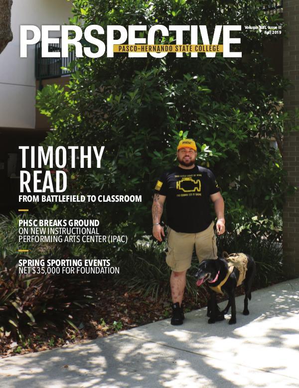 Pasco-Hernando State College Volume XIII, Issue II Fall 2019