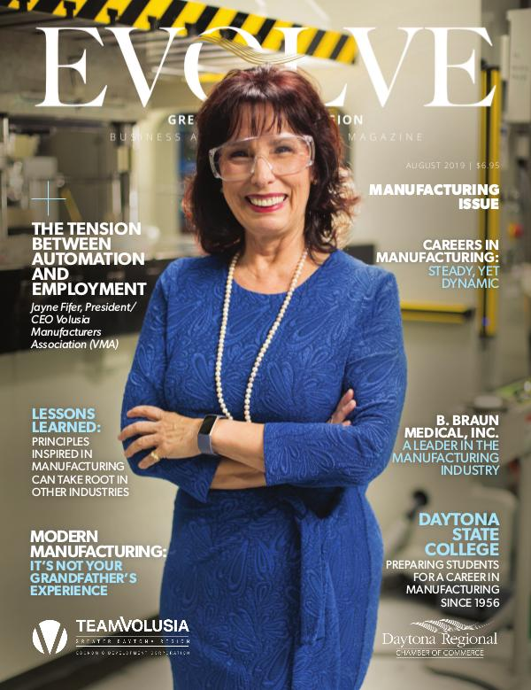 EVOLVE Business and Professional Magazine August 2019