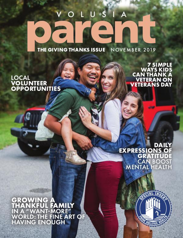 Parent Magazine Volusia November 2019