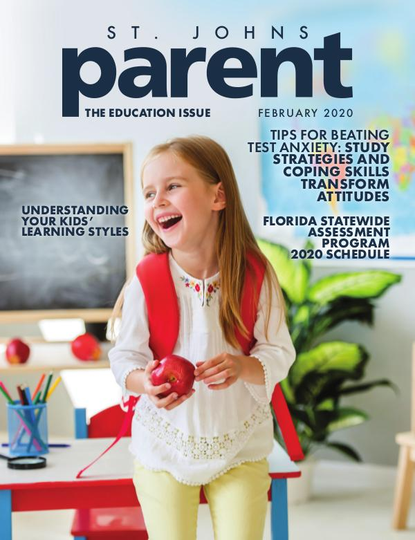Parent Magazine St. Johns February 2020
