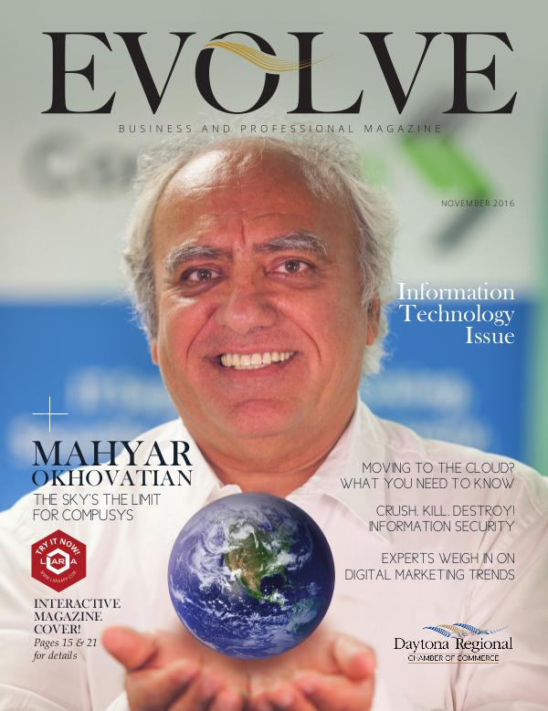 EVOLVE Business and Professional Magazine November 2016