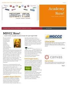 MSVCC Academy Now!