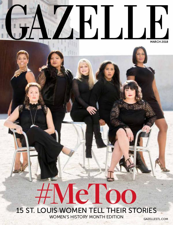 GAZELLE MAGAZINE WOMEN'S HISTORY MONTH EDITION