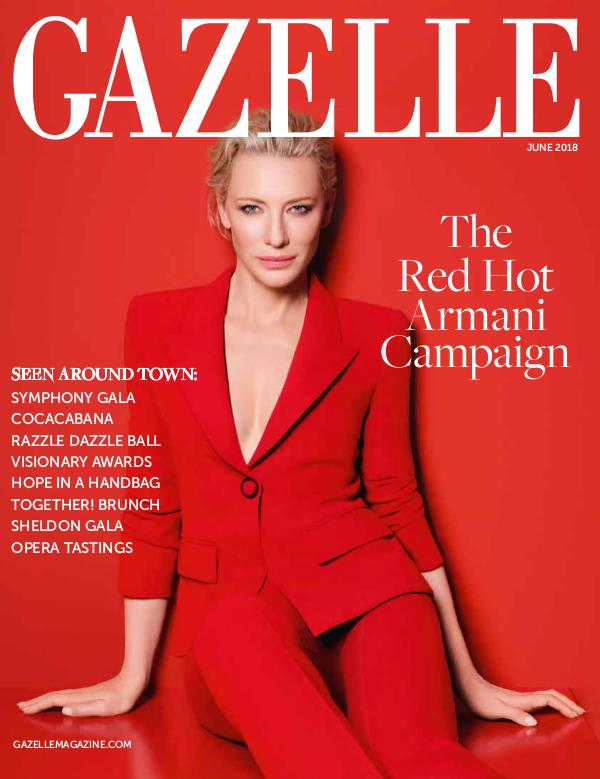 GAZELLE MAGAZINE JUNE 2018