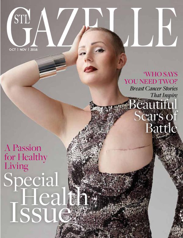 GAZELLE MAGAZINE OCT/NOV 2016 HEALTH ISSUE
