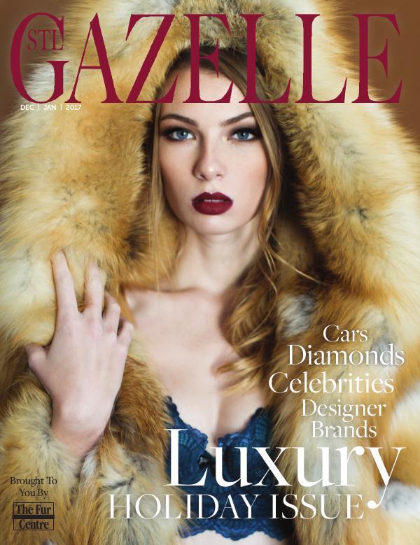 GAZELLE MAGAZINE LUXURY HOLIDAY ISSUE 2016
