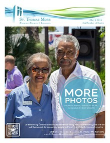St. Thomas More Catholic Church Weekly Bulletin