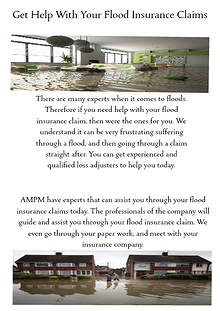 Get Help With Your Flood Claim April. 2014