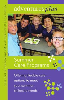 Community Education program brochures