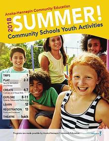 Community Education - current class catalogs