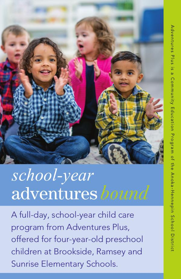 Adventures Bound, 2020-21 school-year care