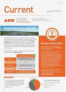 Current  | LES Customer Newsletter