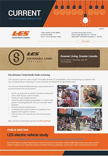 Current  | LES Customer Newsletter