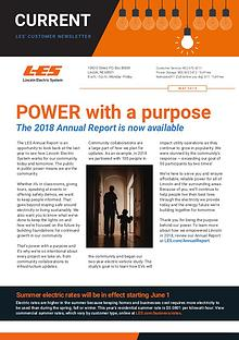 Current    LES Customer Newsletter