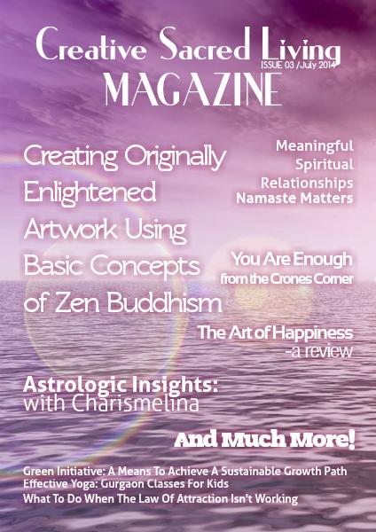 Creative Sacred Living Magazine July 2014
