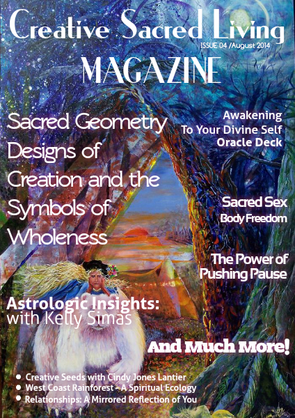 Creative Sacred Living Magazine August 2014