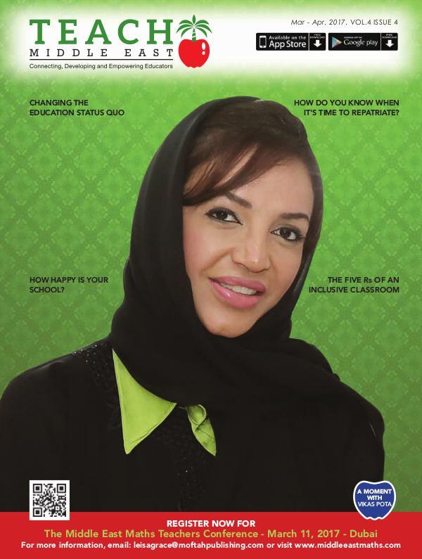 Teach Middle East Magazine Mar-Apr 2017 Issue 4 Volume 4
