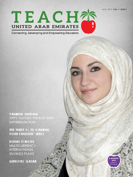 Teach Middle East Magazine May 2014 issue 1 vol. 1