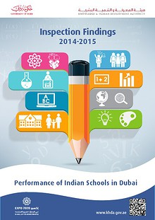 Performance of Indian Schools in Dubai  2014-2015  Inspection Finding