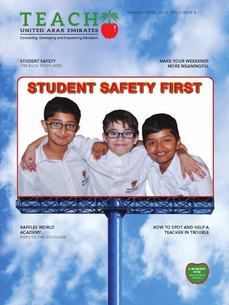 Teach Middle East Magazine Issue 4 Volume 2 March-April 2015