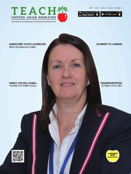 Teach Middle East Magazine Issue 1 Volume 3 Sep-Oct 2015