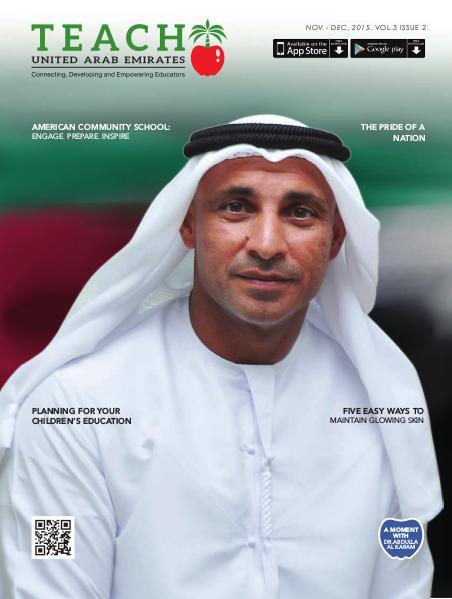 Teach Middle East Magazine Nov-Dec 2015 Issue 2 Volume 3