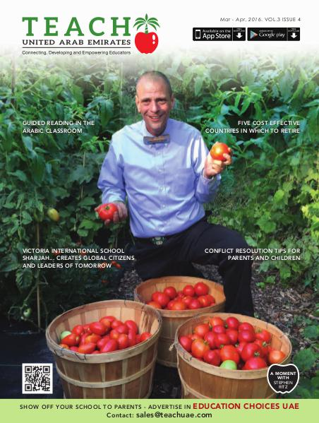 Teach Middle East Magazine March-April 2016 Issue 4 Volume 3