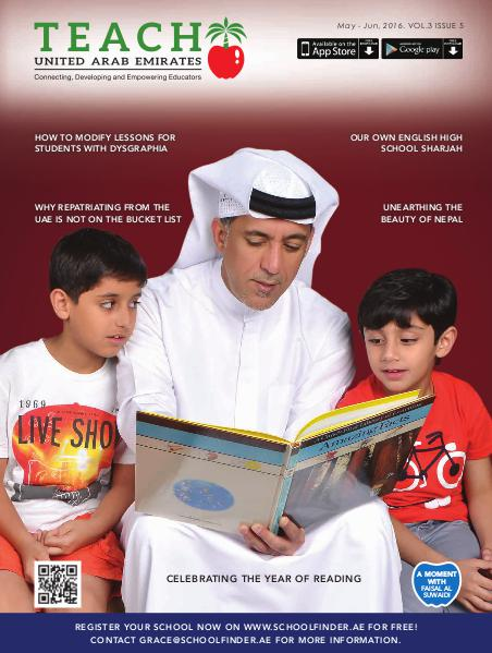 Teach Middle East Magazine May-June 2016 Issue 5 Volume 3
