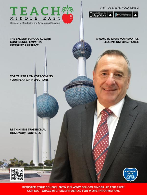 Teach Middle East Magazine Nov-Dec 2016 Issue 2 Volume 4