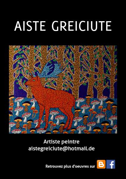 Aiste GREICIUTE - Artist book April 2014