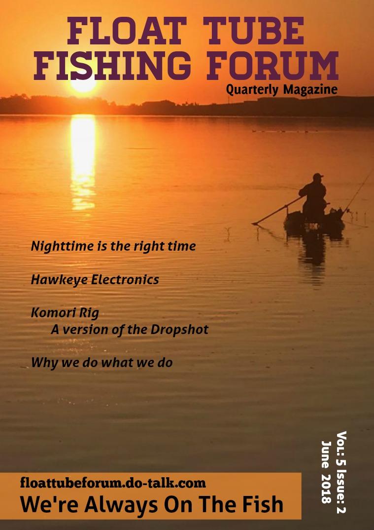 The Float Tube Fishing Forum Volume: 5 Issue: 2