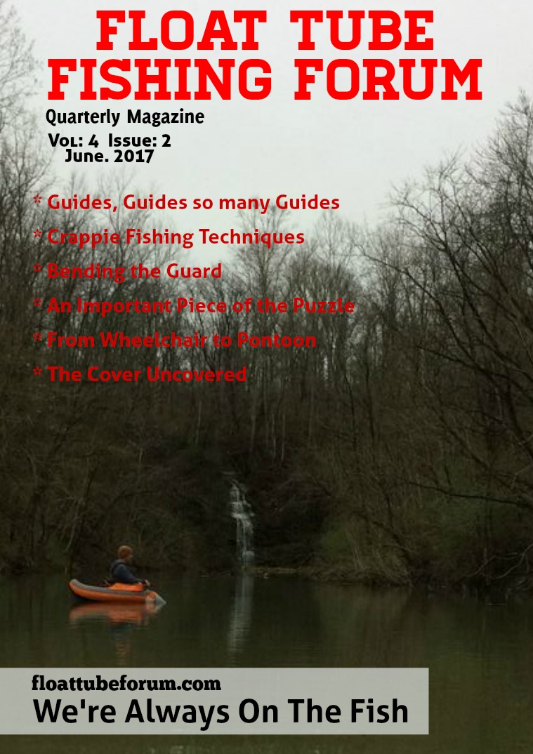 The Float Tube Fishing Forum Volume: 4 - Issue: 2