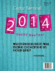 Cedar Sentinel 2013-2014 Issues