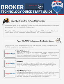 BROKER Quick Start Technology Guide2014