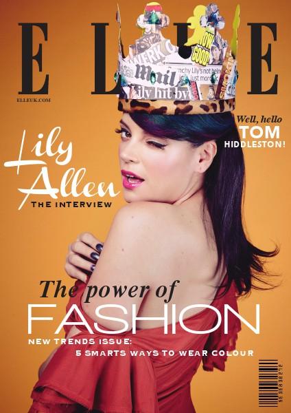 Final Project : Elle Magazine Apr. 2014