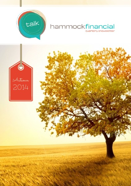 HammockTalk - Quarterly Newsletter Autumn 2014