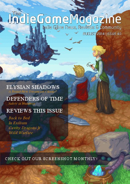 The Indie Game Magazine August 2014 | Issue 40
