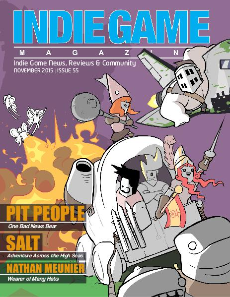 The Indie Game Magazine November 2015 | Issue 55