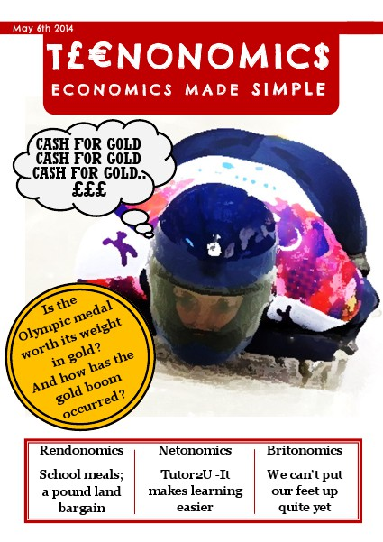 Teenonomics May 2014
