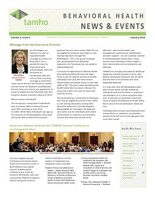 TAMHO - Behavioral Health News & Events