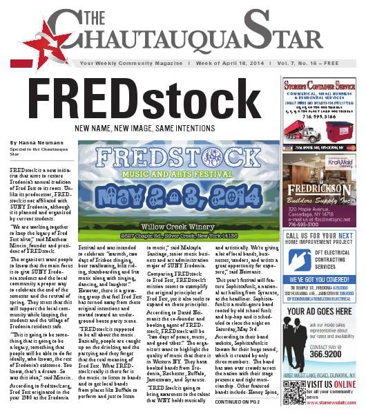Chautauqua Star April 18, 2014