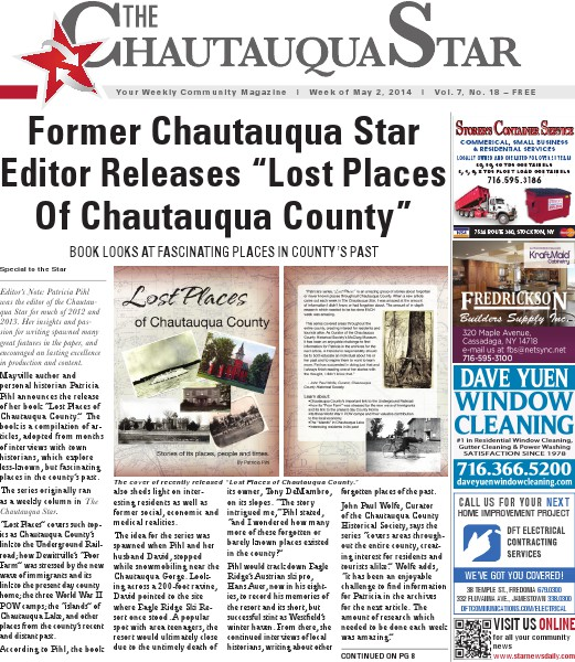 Chautauqua Star May 2, 2014