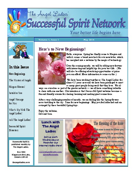 Successful Spirit May Newsletter May 2014 Volume 1